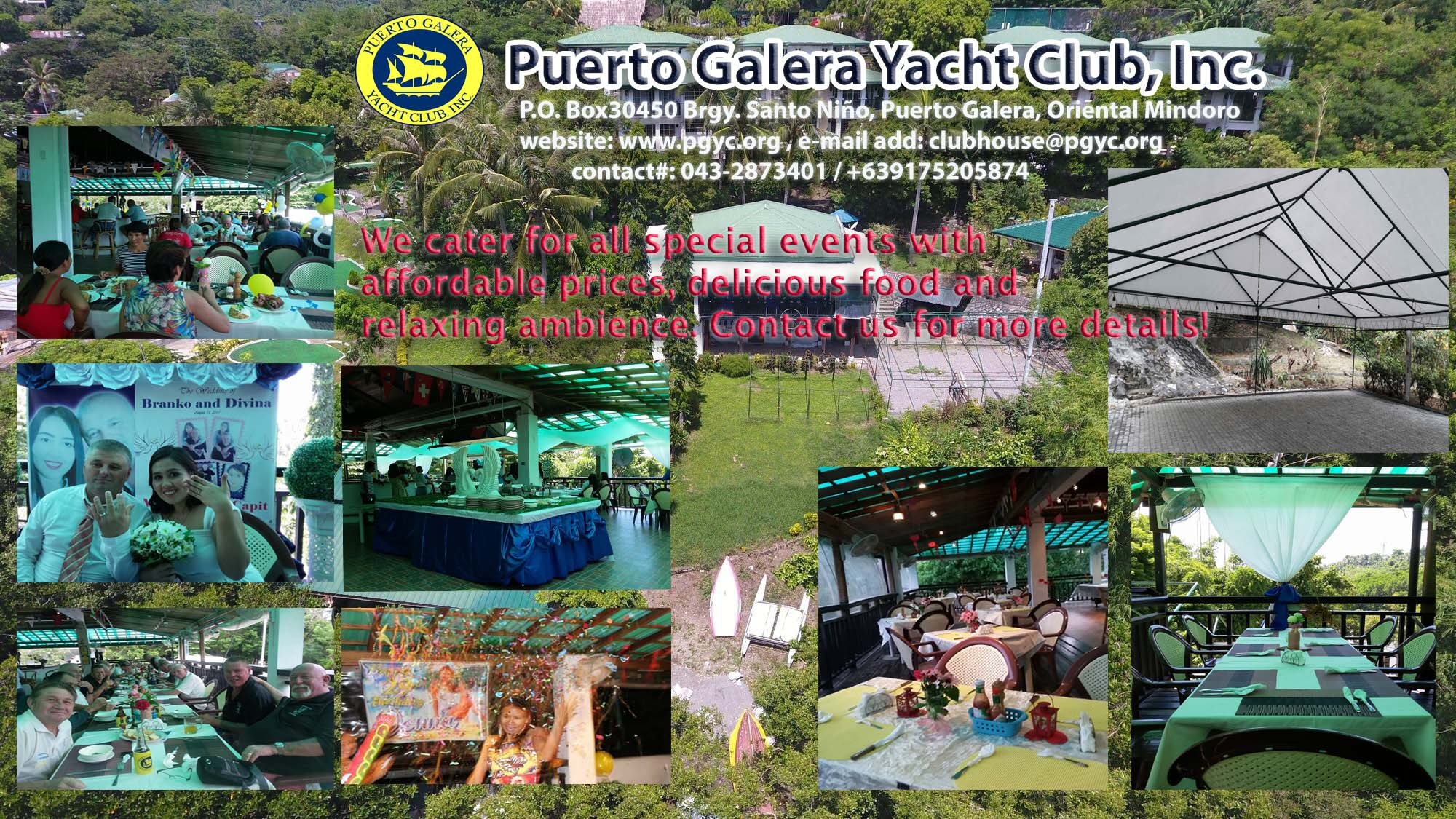 event catering Puerto Galera