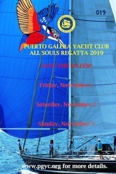All Souls Regatta 2019 announcement