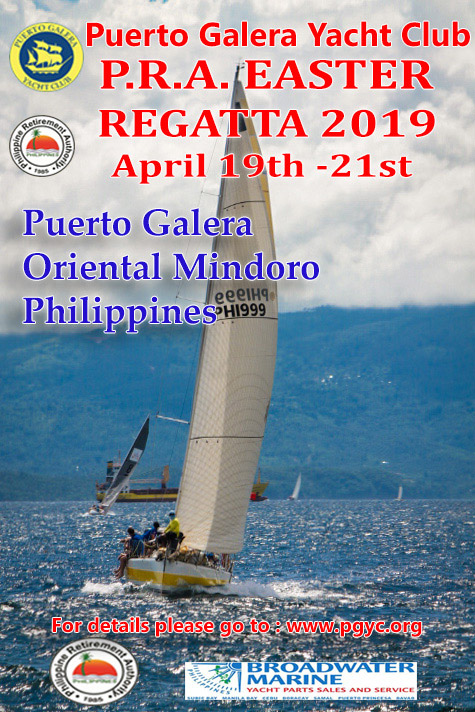 PRA Easter Regatta 2019 poster