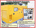 Photograph 75KVA Standby Generator For Sale or For Hire Philippines