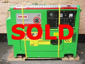 6.5KVA Standby Diesel Generator For Sale Philippines