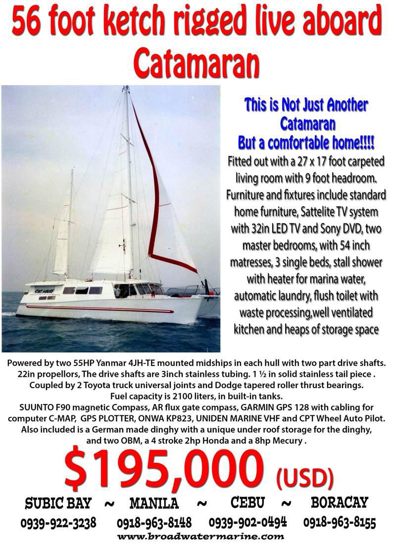 Sailboats For Sale Philippines Cruising Yachts Catamaran