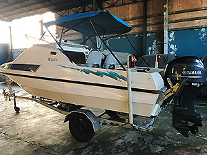 Cescraft speed boat for sale
