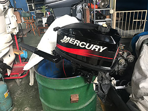 Mercury 5HP outboard motor For Sale