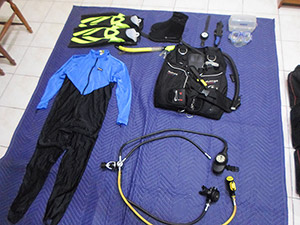 scuba gear set for sale