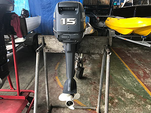 Yamaha 15HP outboard motor For Sale