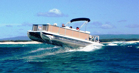 Pontoon Boats Offshore Certified Deck Boats For Sale Orca