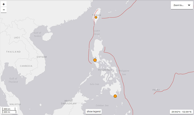 latest earthquake Philippines